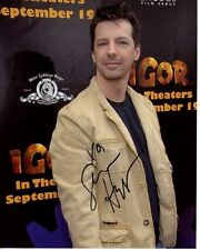 SEAN HAYES signed autographed IGOR MOVIE PREMIERE photo