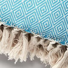 SUMMER WEIGHT QUEEN Size THROW Soft Extra Large 100% TURKISH COTTON Blanket