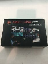New AMD FirePro 2270 x16 PCIe 512MB Video Card Dual DP/DVI-I DMS-59 - AD