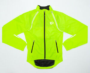 Pearl Izumi Elite Barrier Screaming Safety Yellow Convertible Jacket - Small (S)