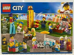 LEGO City: People Pack - Fun Fair (60234) - New in Sealed Box!