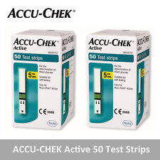 ACCU CHEK Active 100 Test Strips 100 Sheets Genuine Made in Germany Exp. 11/2021