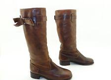 MOSCHINO cheap and chic Damen Winter Stiefel Boots Stiefeletten Leder Gr 36 TOP
