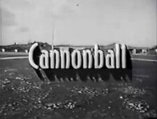 RARE DVD SET = CANNONBALL (1958 CBC Trucker Show) w/case (NOT FROM TV RERUNS)