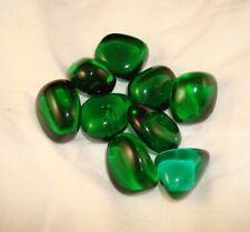 Green Obsidian Tumbled Stone Bulk Obsidia Gemstone Specimen 1/4 lbs Reiki Chakra