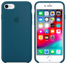 iPhone 8 / 7 / SE 2020 4.7″ Apple Echt Original Silikon Schutz Hülle Kosmos blau