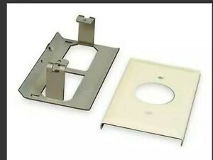 LEGRAND Steel Single Receptacle Cover LOT of 4
