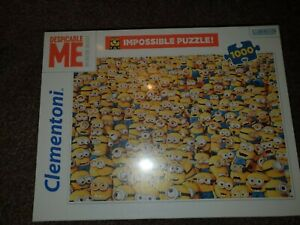Brand New Minions despicable me Impossipuzzle Jigsaw Puzzle