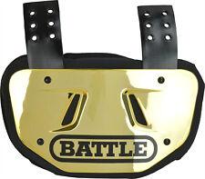 Battle Sports Back Bone Adult Football Back Plate, New
