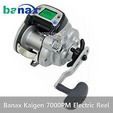 High Technology Electric Fishing Reel Hybrid Motor System Banax Kaigen 7000pm