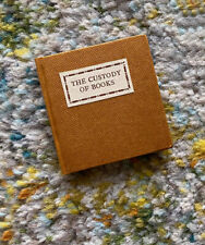Custody of Books Richard de Bury Kitemaug Press Limited Ed. Miniature Book 9/34