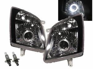 Dmax RA MK3 2007-2011 Guide LED Angel-Eye Headlight BK for CHEVROLET CHEVY LHD