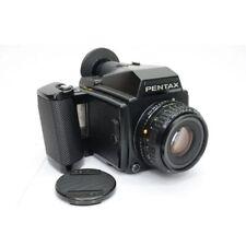 Pentax 645 Medium Format Slr Film Camera Body + 75mm 2.8 lens + Accessories Set