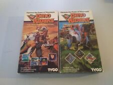Dino Riders VHS Vol 1 And 2