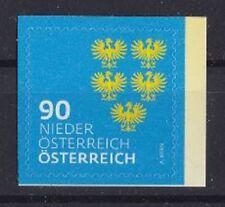 """3410 Österreich 2018 Heraldik """" Niederösterreich,Wappen Adler, 90 cent"""" sk   **"""