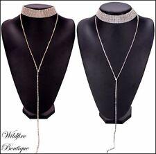 Rhinestone Fashion Chokers