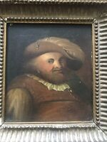 18th Century Old Master Portrait Of Dutch Gentleman With Hat