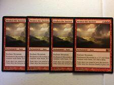 MTG 4x Awaken the Ancient M14 Modern Magic Gathering Card x4 NM