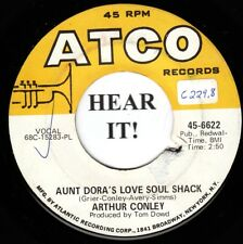 Arthur Conley NORTHERN 45 (Atco 6622) Aunt Dora's Love Soul Shack /Is That You