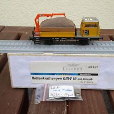 Liliput Plasser & Theurer Platelayer's wagon OBW 10 DIGITAL with SB