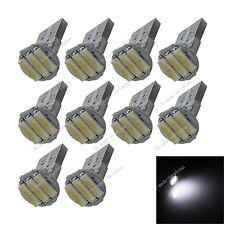100X Car 3 LED 7020 SMD PCB T10 W5W Wedge Side Light Bulb Lamp A064