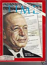 Time Magazine Justice Abe Fortas July 5, 1968