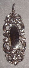 1973 Towle Grand Duchess Sterling Silver Large Pendant Xmas Ornament Medallion