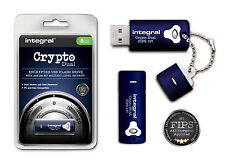 Secure Encrypted 8GB USB Flash Drive with 256 Bit Military Security for PC & Mac