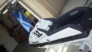Kawasaki 650-sx Jet-Ski Hydro-Turf Pad Rail Cover Kit Black In stock SEW65K