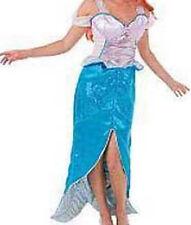NWT! DISNEY STORE Princess ARIEL Mermaid Fancy Dress Women COSTUME ADULT S