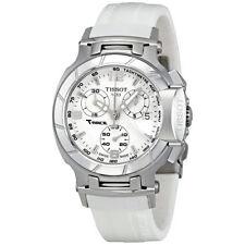 New Tissot T-Race White Rubber Chronograph Women's Watch T0482171701700