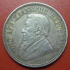 """South Africa  2 1/2 Shillings 1896 ZAR """"The Father"""" Silver (MT6 )"""