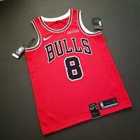 100% Authentic Zach LaVine Bulls Jersey Zenni Patch Size 40 S 48 L 52 XL