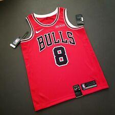 100% Authentic Zach LaVine Bulls Jersey Zenni Patch Size 48 L Mens
