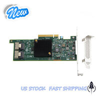 RAID Card for SAS 9207-8i PCI-E 3.0 HBA LSI00301 027NFF 6Gbps IT Mode US