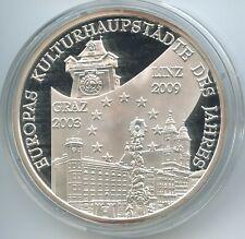 PA176 - Silbermedaille Kulturhauptstadt Europas Linz 2009 Oberösterreich