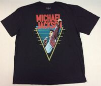 Michael Jackson KING OF POP Vintage Style T-Shirt Size 2XL - Officially Licensed