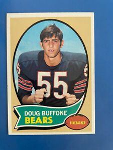 1970 TOPPS DOUG BUFFONE (ROOKIE) #163 CHICAGO BEARS