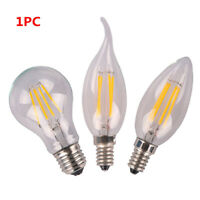 Dimmable E27/E14 220V LED Filament Bulb COB Home Decor Vintage Edison Lamp new