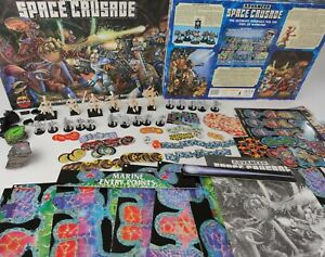 Advanced Space Crusade Board Game 100% complete Games Workshop [ENG,1990]