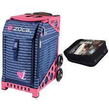 Zuca Anchor My Heart Sport Insert Bag & Pink Frame + Gift Utility Pouch