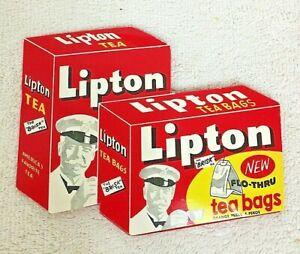 Vintage Lipton Tea Upholstery Needles Pack 12 Needles West Germany
