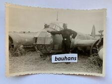 Foto Flugzeug Ju 88 Bruchlandung  2.WK (2059x)