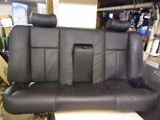 2003 Jaguar XJR Rear Passenger Sport Black Leather Heated Seat 98-03 XJR XJ8 XJ6