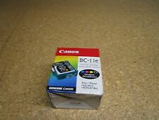 Lot Of 2 New Canon BC-11e Multi-Color Ink Cartridge for  BJC-80/70 NOTEJET IICX