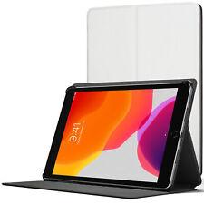 iPad 10.2 Case, Apple iPad 10.2 2019 Cover - White + Stylus & Screen Protector