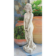 Greek Goddes of the Island of Blest Greco Roman Nude Harmonia Garden Sculpture
