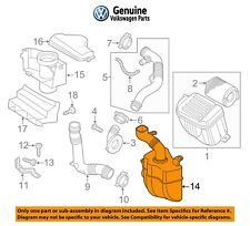 For Volkswagen Jetta 11-15 2.0L L4 Gas Resonator Assembly OEM Genuine 1K0129622D