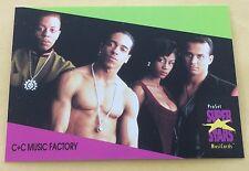 C&C Music Factory 1991 Pro Set Super Stars Musicards U.K. Edition Trading Card