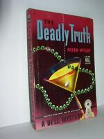 The Deadly Truth by Helen McCloy  (#107 Dell,1941, Map Paperback)